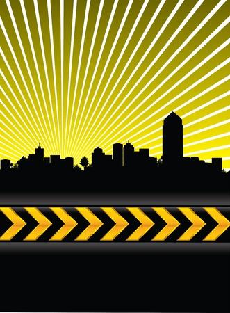 cityscape background Stock Vector - 9502563