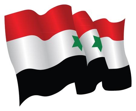 Syryjski: Flaga syryjski