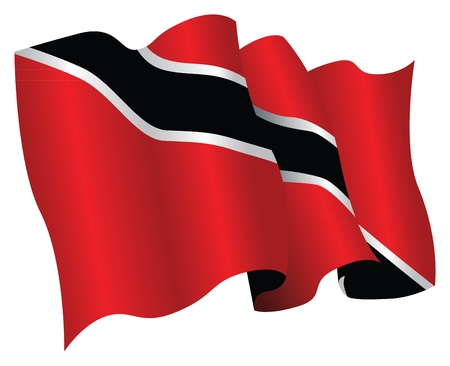 national flag trinidad and tobago: trinidad and tobago flag