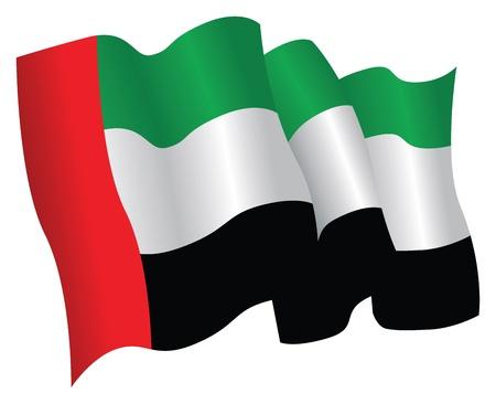 uae: united arab emirates flag