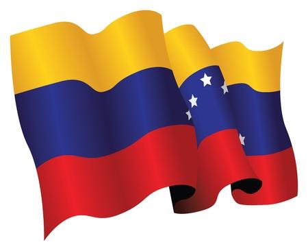 Bandera de Venezuela Foto de archivo - 9646021