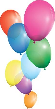 balloon background Stock Vector - 9930935
