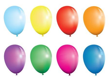 balloons Stock Vector - 9930934