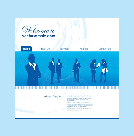 photo people: a business people website background