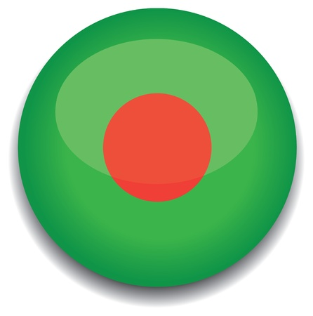 bangladesh: bangladesh flag in a button