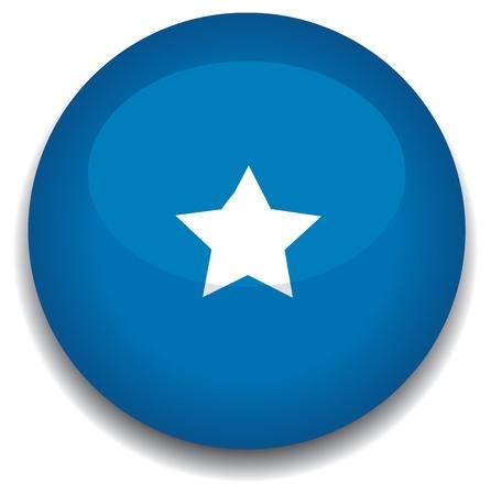 creativy: somolia flag in a button