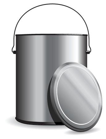 paint pot Stock Vector - 11121086