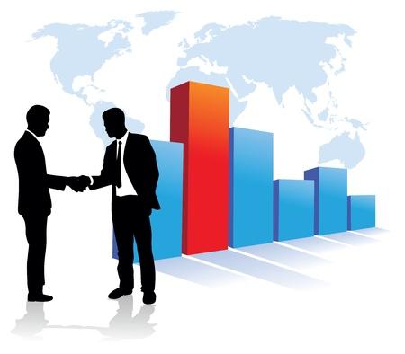 management concept: gente de negocios