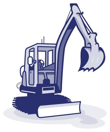 escavadeira: m�quinas planta