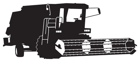 agricultural equipment: combine harvester