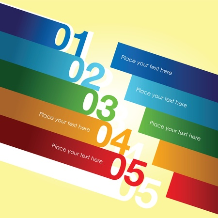 abstract number line background Vector