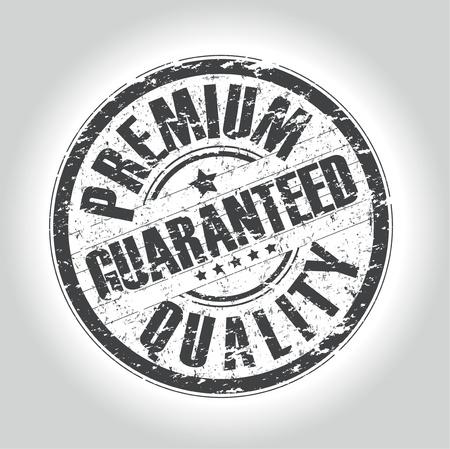 guaranteed stamp Vector