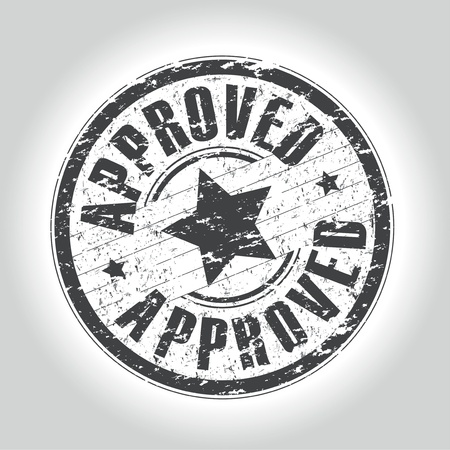 approved stamp: sello de aprobaci�n