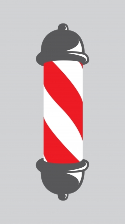 sign pole: abstract barber pole
