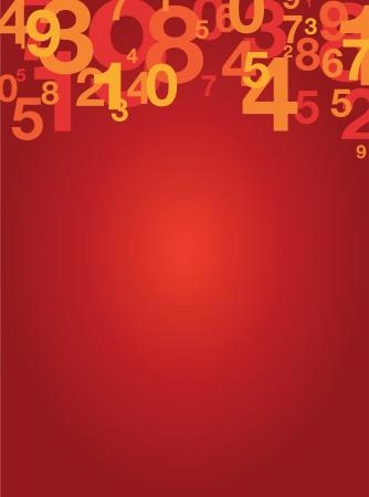 zero: number background