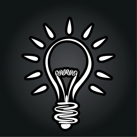idea icon: lightbulb idea