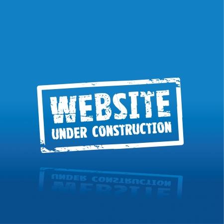 website construction  Ilustração