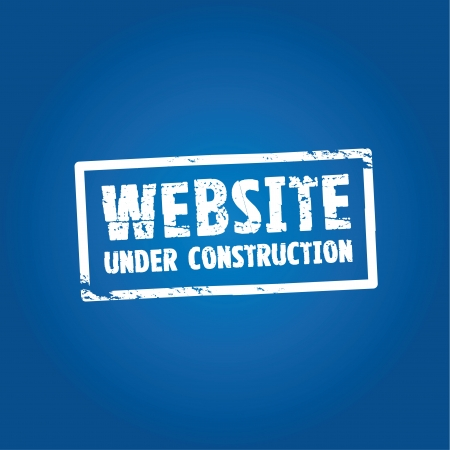 construction background: website construction  Illustration