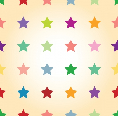 seamless star background Stock Vector - 15924608