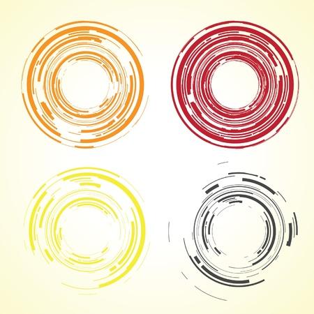 lentille de la caméra abstrait Vecteurs