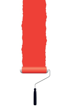paint roller Stock Vector - 16624565