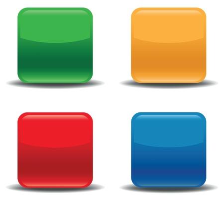 colour icon set Stock Vector - 17459791