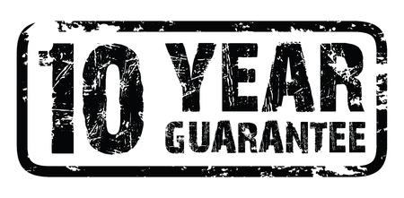 ten best: 10 year guarantee Illustration