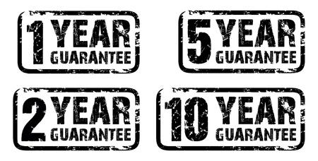 guarantee: set of guarantee stamps