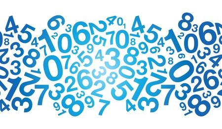 abstracte blauwe achtergrond nummer