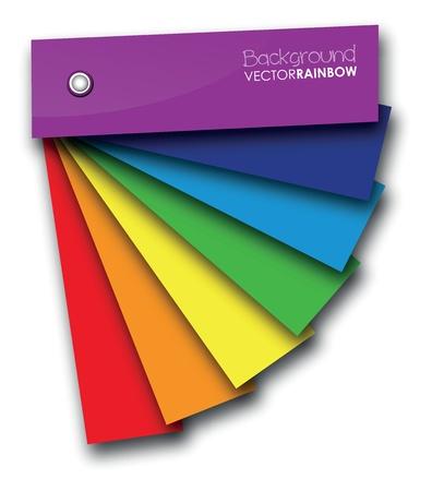 Regenbogen Farbe Hintergrund Buch