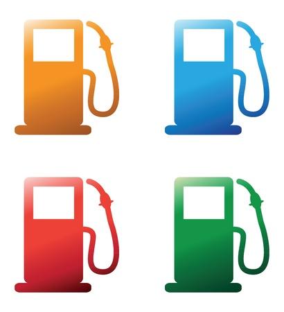 petrol pumps Stock Vector - 21134988