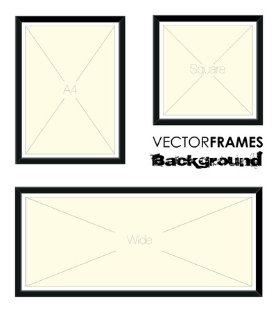 picture frame backgrounds Vector