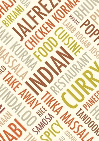 india food: indian colourful   background