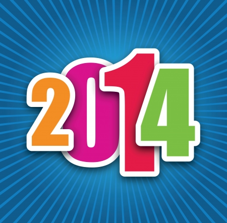 2014 background Vector