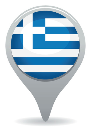 greece flag: greek icon