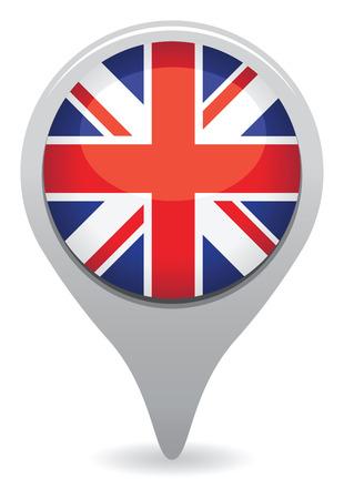 britain flag: uk icon
