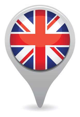 bandera de gran bretaña: uk icono