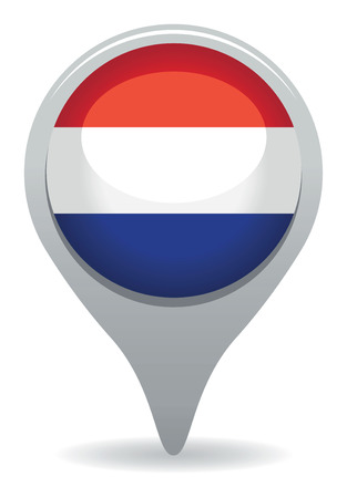 dutch flag pointer Vector