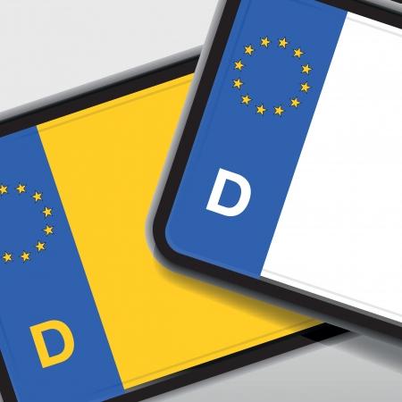 information highway: german car registration