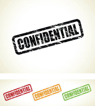 censored: confidential stamps