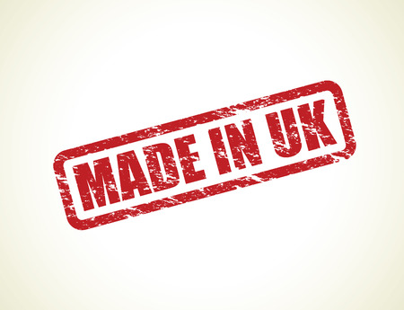 made in the uk stamps Illustration
