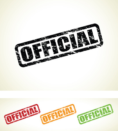 official signs Vector