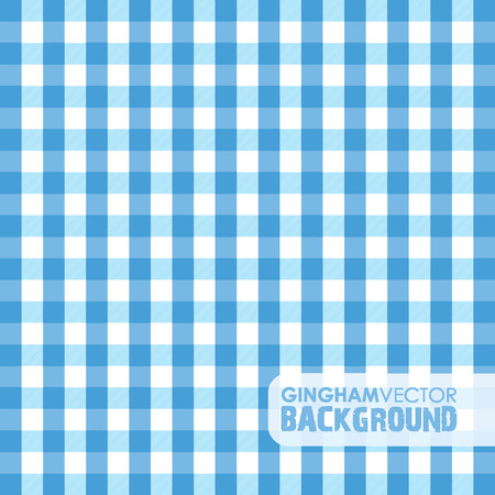 picnic tablecloth: blue gingham background