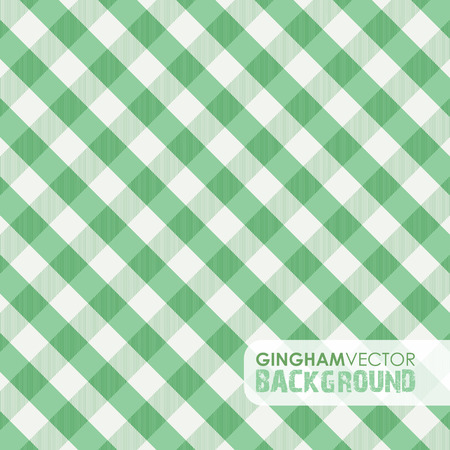 picnic tablecloth: green gingham background