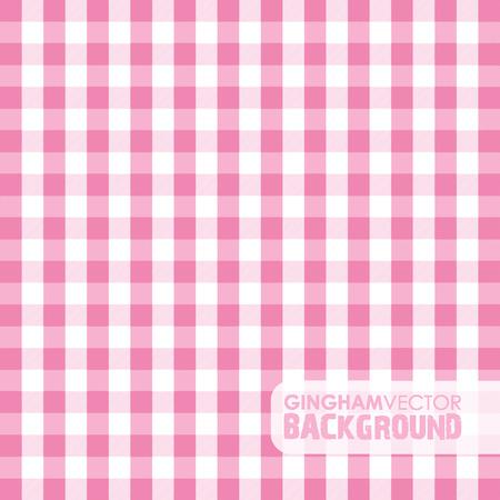 gingham: pink gingham background