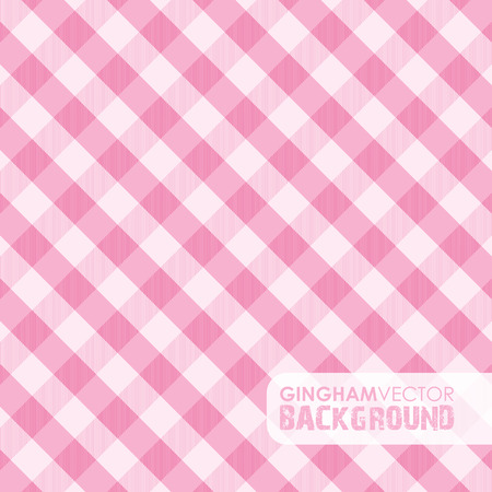 pink gingham background Vector