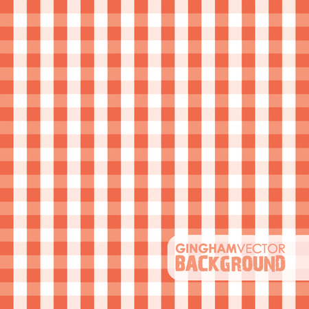 red gingham background Vector