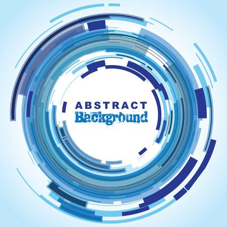 abstract circle background Ilustracja