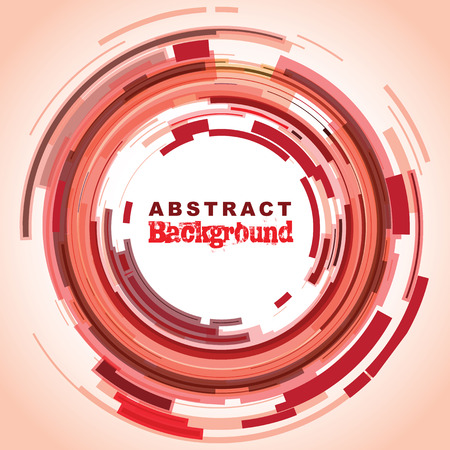 abstract aperture: abstract circle background Illustration