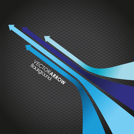 move ahead: blue arrow line background